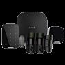 Draadloos alarmsysteem Deluxe met PIR cam Zwart ELITE