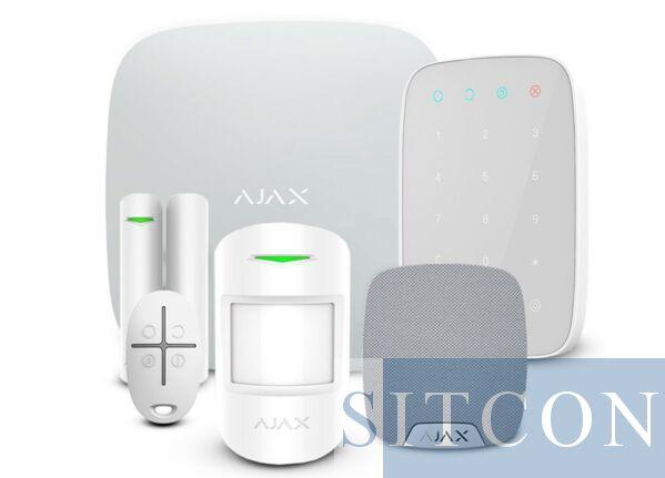 AJAX draadloos alarmsysteem Compleet Wit