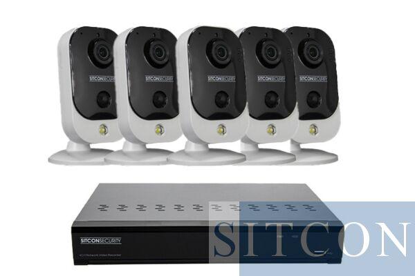 Cube beveiligingscamera set EASY 5