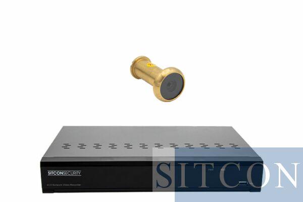 Deurspion camera set
