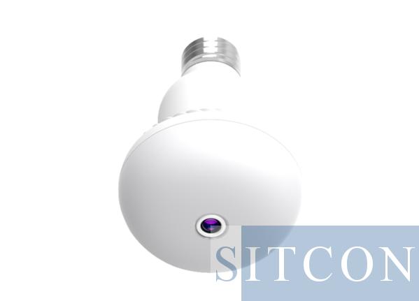 Lamp Wi-Fi spy camera EASY