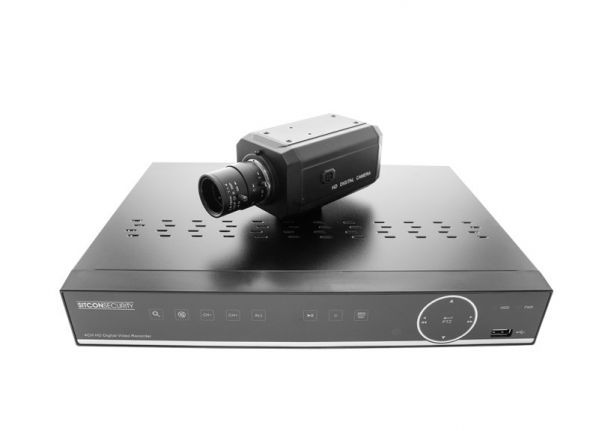 Box bewakingscamera set - raambevestiging