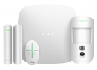 Draadloos alarmsysteem met PIR camera Wit SMART