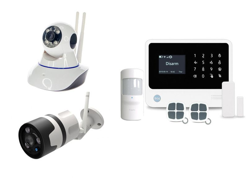 Alarmsysteem PRO + 2 IP camera's