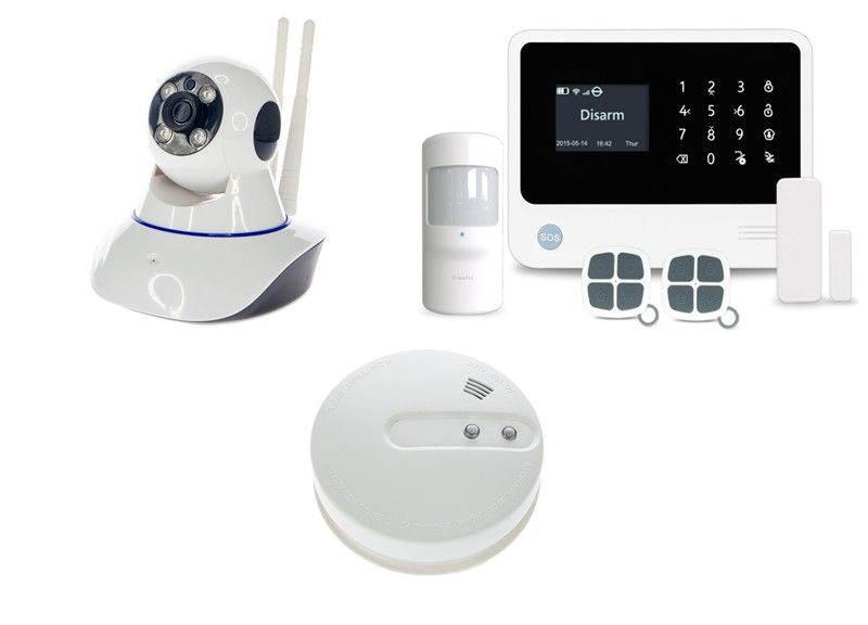 Alarmsysteem PRO + IP camera + Rookmelder