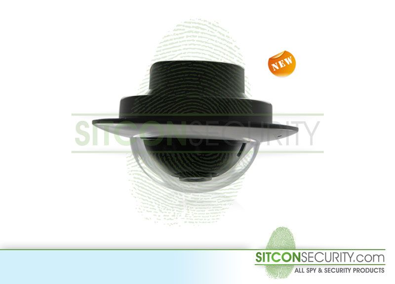 Mini dome camera - Fisheye 130˚ lens