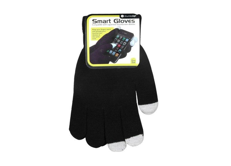 iGloves - Touchscreen handschoenen (Zwart)