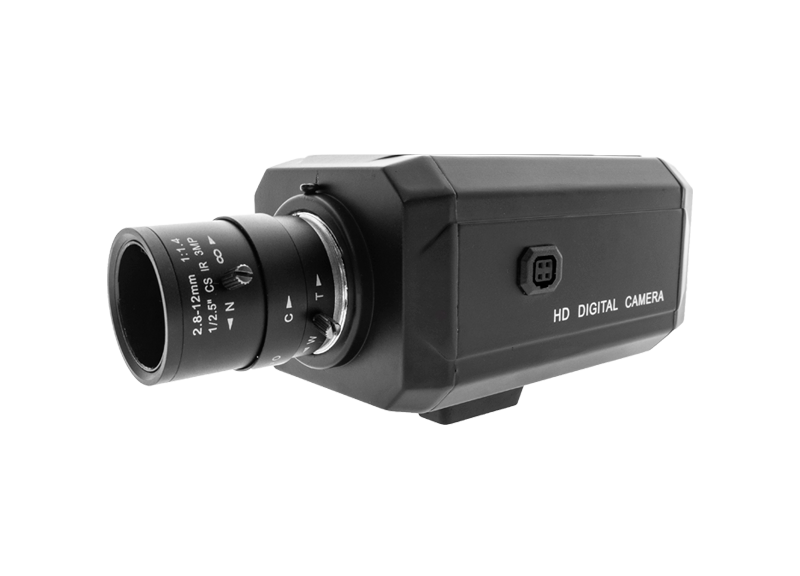 HD (Coax) Box camera - raambevestiging