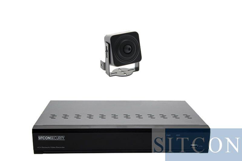 Pinhole bewakingscamera set PRO